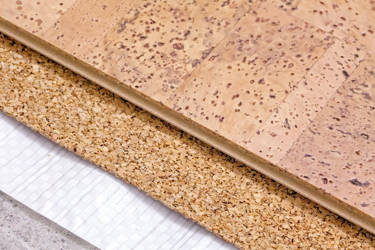 cork insulation boards