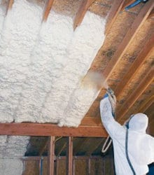 example spray insulation