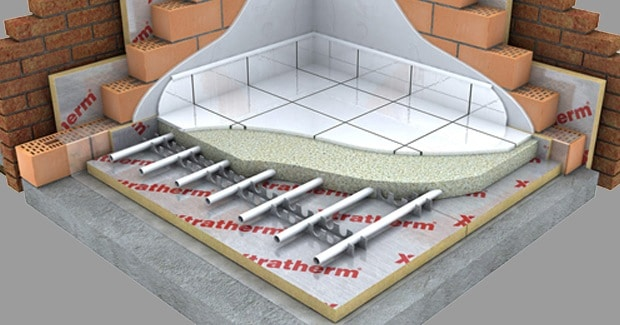 floor insulation construction