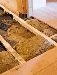insulate floor