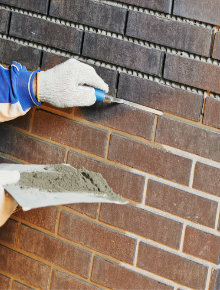 new brick wall external insulation