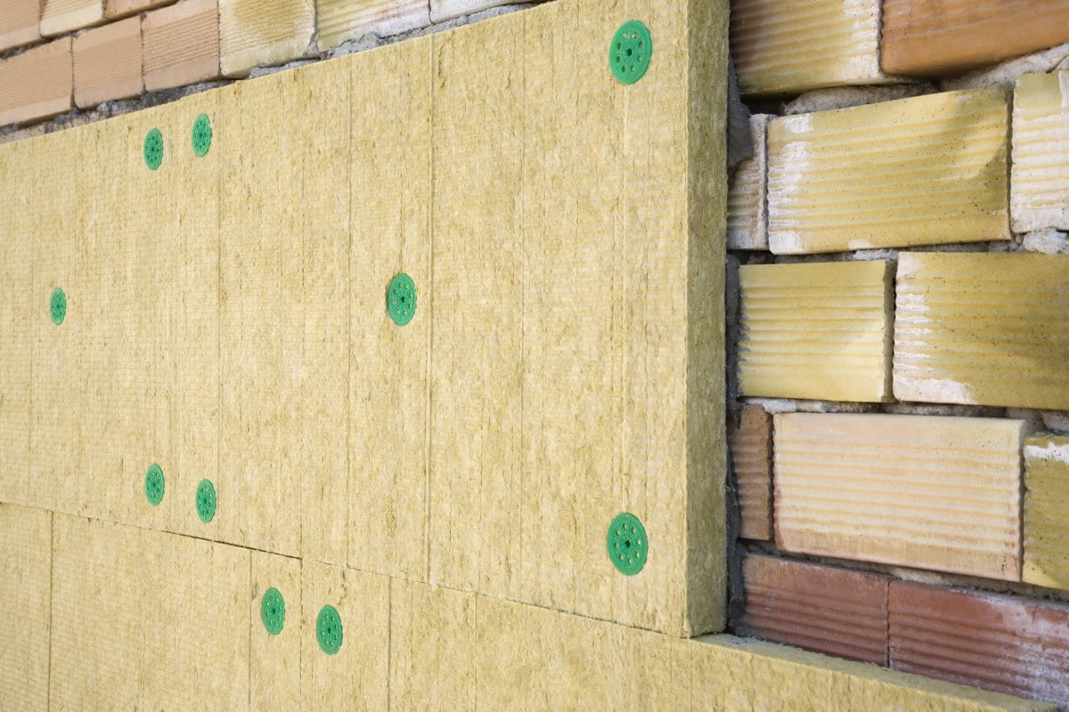 Rock wool insulation advantages types and thicknesses for Wool wall insulation