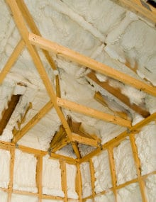 roof insulation spray foam