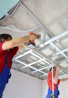 suspended ceiling sound insulation